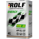 ROLF ENERGY 10W-40SL/CF 4л