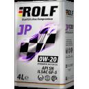 ROLF JP SAE 0W-20 ILSAC GF-5/API SN 4л