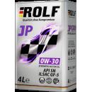 ROLF JP SAE 0W-30 ILSAC GF-5/API SN 4л