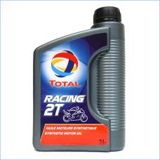 Total RACING 2T. Синтетическое масло для двухтактных бензиновых двигателей мотоциклов. 1л