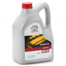 TOYOTA Engine Oil Synthetic SAE 5W-40 5л